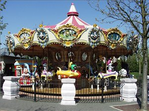 looney tunes carousel. Black Bedroom Furniture Sets. Home Design Ideas